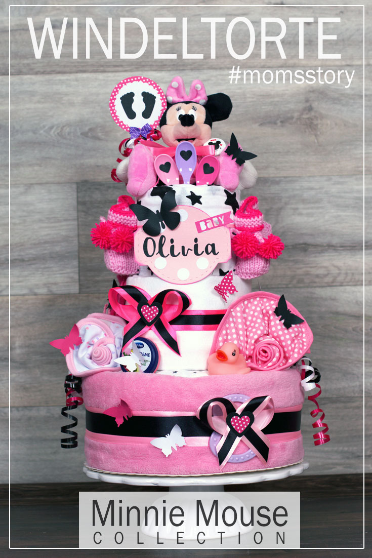 Disney Windeltorte - Minnie Maus Kollektion
